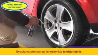 Akfix R60 Lastik Tamir Spreyi Nasıl Kullanılır - Nursa Market