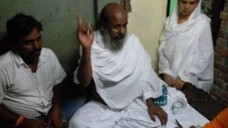 মাতাল রেজ্জাকের গান। Bhajibo tomar ranga choron. Sanjoy Krittaniya.