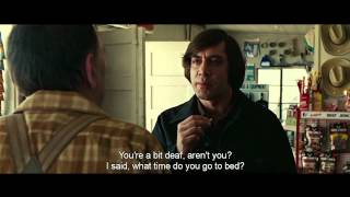 No Country For Old Men - Coin Toss Scene [HD]