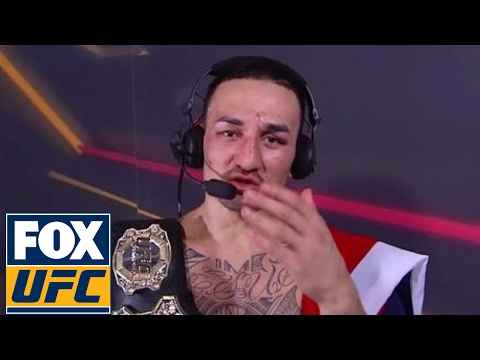 Max Holloway on how he defeated Jose Aldo, what's next | UFC 212