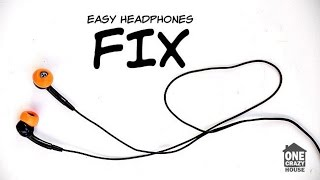 DIY Noise Cancelling Earbuds