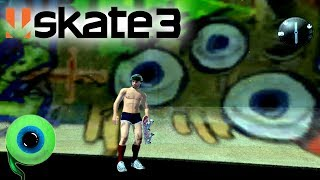 Skate 3 - Part 2 | MY LOGO IS IN THE GAME! | Hall of Meat for everyone!