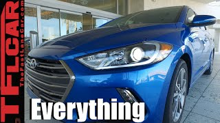 2017 Hyundai Elantra: Everything You Ever Wanted to Know