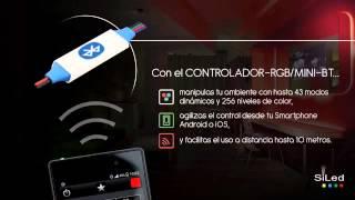 JAMS VD 018 CONTROLADOR TIRA LED RGB