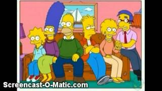 The simpsons throught the X-mas years