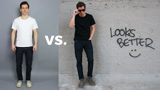 How to Look Taller and Leaner   5 Style Principles You Should Follow