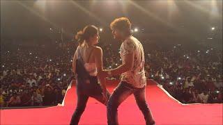 Khesari Lal Yadav  and Gloory Moohanta live performance | Mehandi Laga Ke Rakhna