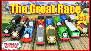 THOMAS AND FRIENDS The Great Race #210 TrackMaster Thomas Train|THOMAS & FRIENDS TOYS