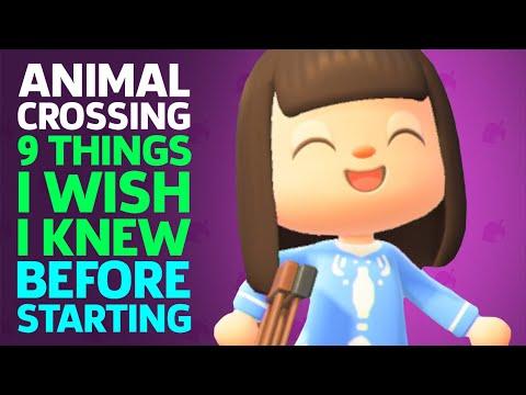 9 Things I Wish I Knew Before Starting Animal Crossing New Horizons