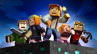 Minecraft Storymode - Episode 1: FULL GAME MOVIE (No Commentary)