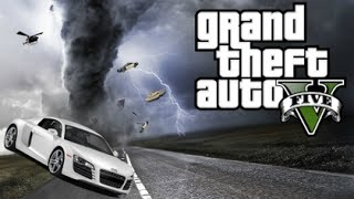 GTA 5 Mods - MASSIVE TORNADO MOD! (GTA 5 PC Mods Gameplay)