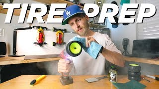 HOW TO BREAK IN TIRES || Tire prep methods explained