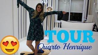 TOUR PELO QUARTO DO HENRIQUE