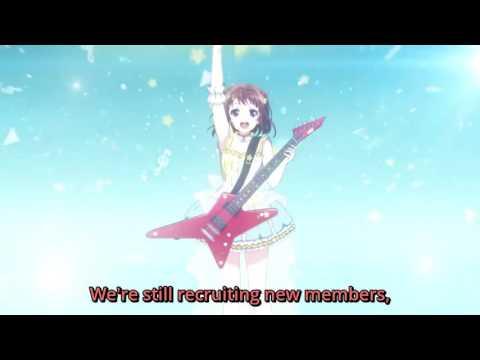[ENG SUBS] BanG Dream! TV Anime - Toyama Kasumi CM