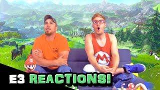 E3 Reaction - The Legend of Zelda (E3 2014)
