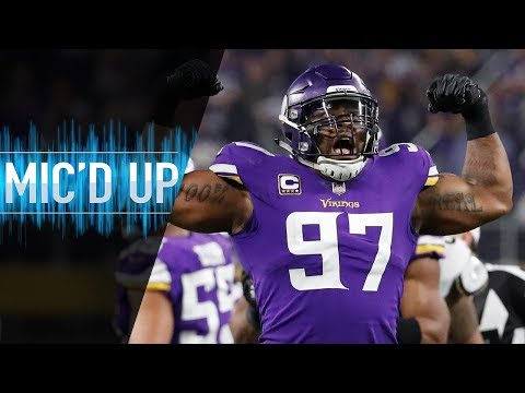 Everson Griffen Mic d Up vs. 49ers I Hope Y all Brought Your Big Boy Pads NFL Films