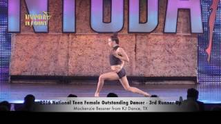 2016 National Teen Female Outstanding Dancer Finalists and Winner