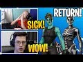Download Video Download Streamers React To *RARE* Halloween Skins COMING BACK To Fortnite (RIP) 3GP MP4 FLV