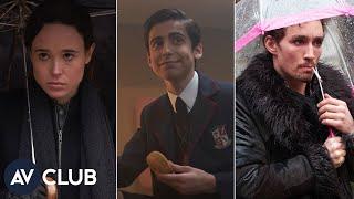 Ellen Page, Robert Sheehan, and Aidan Gallagher talk kicking ass in The Umbrella Academy