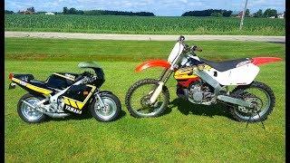 Custom Yamaha Ysr 50 vs Honda Cr 250!!!