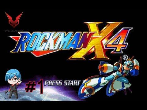Rockman X4 PS1 Part 1 รอบนี้เอ็กซ์ขอลุยก่อนล่ะกัน
