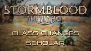 Stormblood Class Changes: Scholar