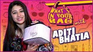Aditi Bhatia aka Ruhi's Handbag SECRET REVEALED   What's In Your Bag