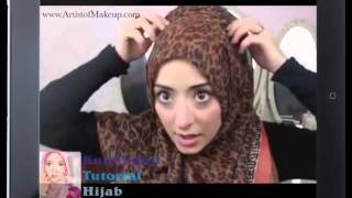 Smart And Simple Hijab Tutorials for Work and Office Woman.
