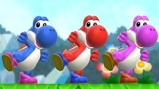 Super Mario Run - Red Yoshi Unlocked (All Yoshi Colors Unlocked + Gameplay)