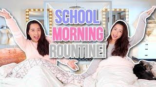 TWIN SCHOOL MORNING ROUTINE! | Caleon Twins