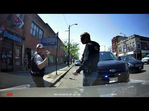 chicago undercover cops plain clothes officers on a traffic stop