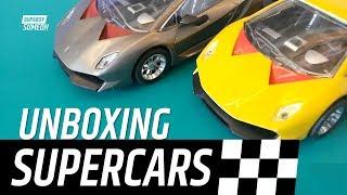 Unboxing Supercars | Bugatti and Lamborghini