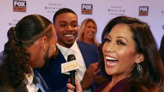 """Errol Spence crashes Keith Thurman interview, says """"One Time"""" always """"injured"""""""