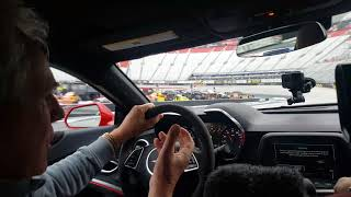 Darrell Waltrip Takes Writer Steve Sweitzer For A Few Laps At Bristol Speedway