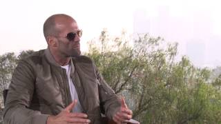 Furious 7: Jason Statham Official Movie Interview