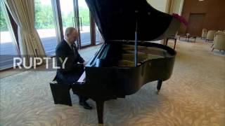 China: Putin plays the piano at Xi Jinping's residence in Beijing
