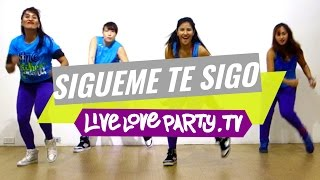 Sigueme Y Te Sigo   Zumba Fitness   Live Love Party
