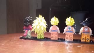 Lego custom dbz goku