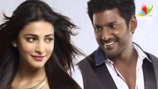 Vishal shies away while Sruthi oozes in glamour | Poojai Movie | Hot Tamil Cinema News