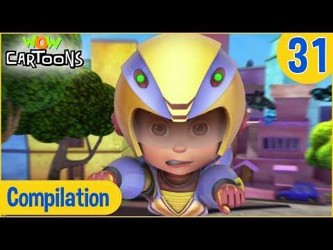Vir The Robot Boy | Hindi Cartoon | Action Cartoons for Kids | Compilation #31 | 3D Cartoons
