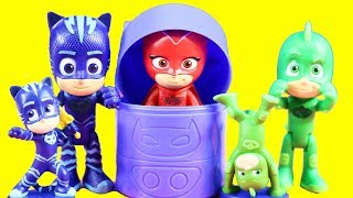 PJ Masks Collectible Figures Surprise HQ Headquarters With Catboy Owlette Gekko And More Fun Toys