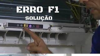 Erro F1 ar condicionado gree - Curso o Segredo dos ar Split