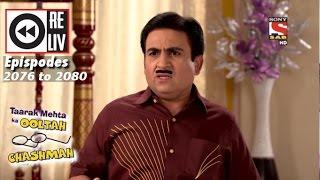 Weekly Reliv Taarak Mehta Ka Ooltah Chashmah  21 November to 25 November 2016   Episode 2076 to 2080