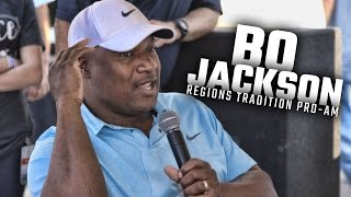 """Bo Jackson talks baseball brawls and the """"Bo Over the Top"""" no one talks about"""
