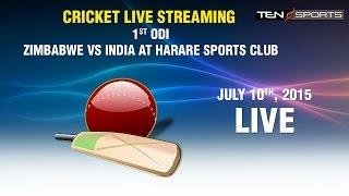 CRICKET LIVE STREAMING: 1st ODI - Zimbabwe v/s India, Harare Sports Club (1080p)