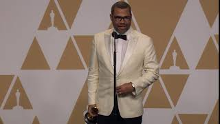 Jordan Peele in Oscars Press Room: