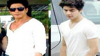 Shahrukh Khan's Son Aryan Khan COPIES his Father  | Unseen Photos