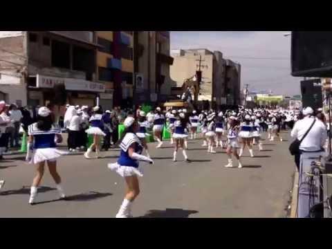 Bastoneras De La Escuela Secundaria General Número 2En El Desfile Del 1 De Mayo Pachuca De Soto