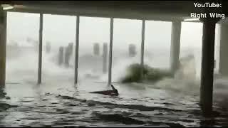 إعصار إيرما ضد فلوريدا (إنزان فوتيد) ستورم سورج وارنينغ ⚠️
