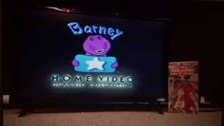 Opening to Walk Around The Block With Barney 1999 VHS (Demo Copy)